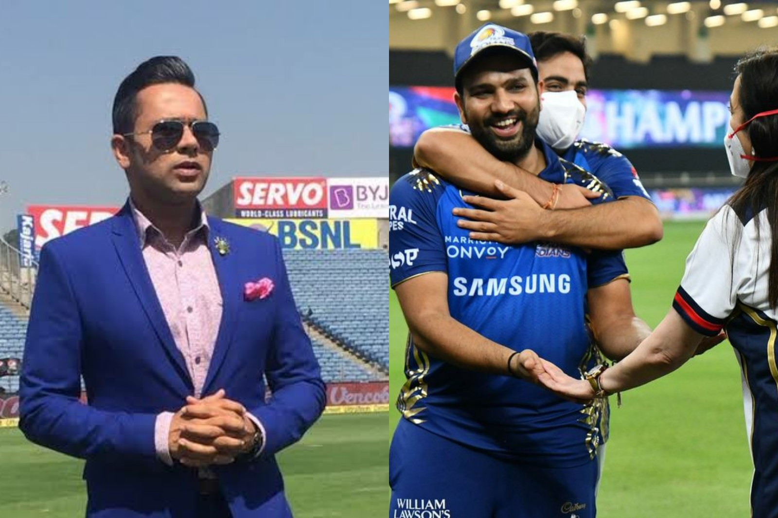 'Can Rohit win IPL trophies with RCB?' MI skipper gives ...