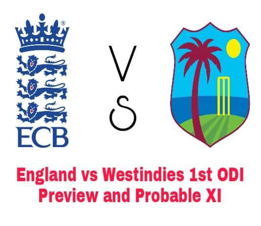England vs Westindies Dream11 Team Prediction