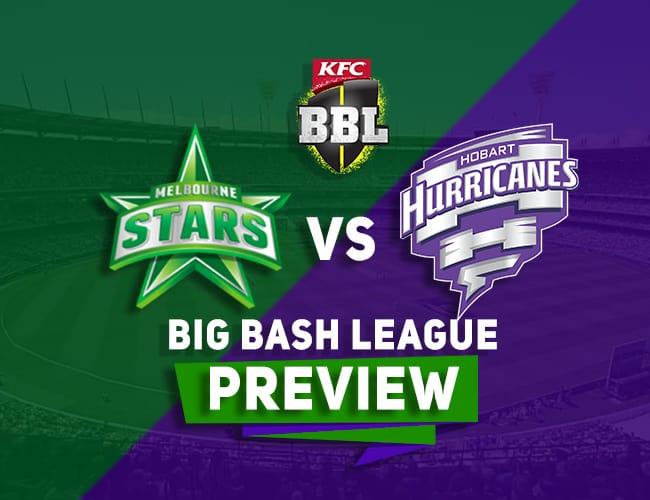 MLS vs HBH Dream11 Team Prediction, Preview: BBL| Stars take on Hurricanes at the MCG