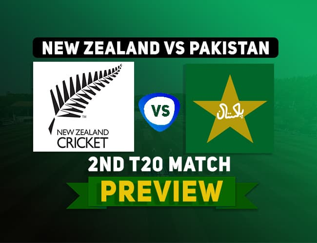 NZ vs PAK 2nd T20 Team Prediction, Probable Playing XI