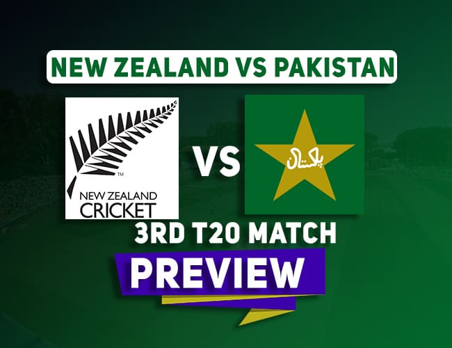 NZ vs PAK 3rd T20 Team Prediction, Probable Playing XI: Preview