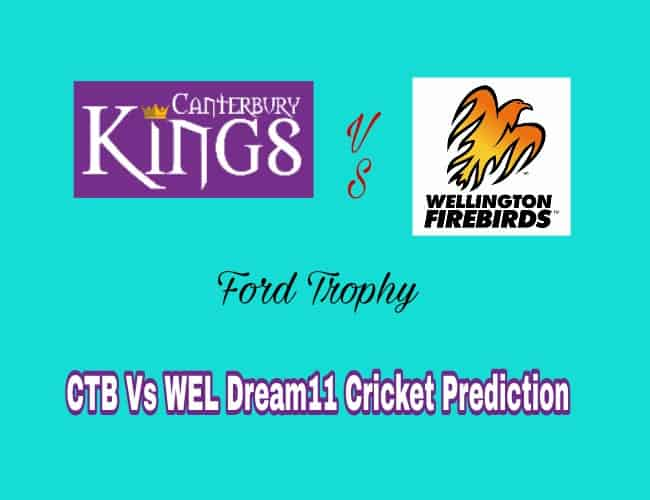 CTB Vs WEL Dream11 Team Prediction