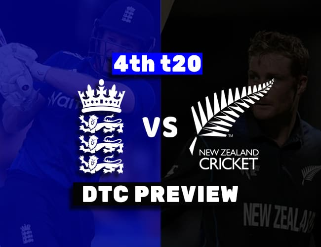 ENG vs NZ 4th T20I Dream11 Team Prediction: Preview| Morgan and Williamson doubtful