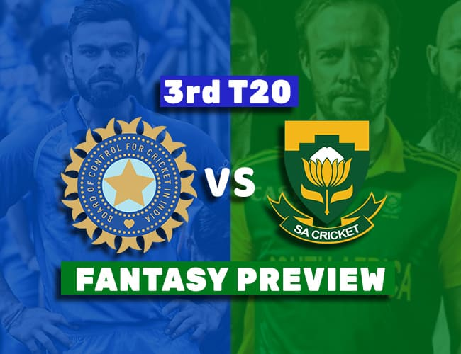 SA vs IND 3rd T20I Dream11 Team Prediction: Preview| Fight for the honour
