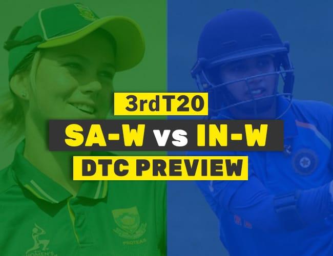 IN-W vs SA-W 3rd T20 Dream11 Team Prediction : PREVIEW