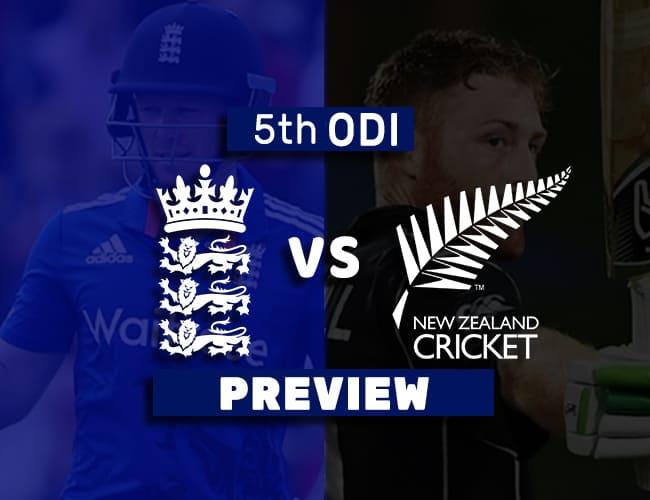 ENG Vs NZ 5th ODI Dream11 Team Prediction: Preview
