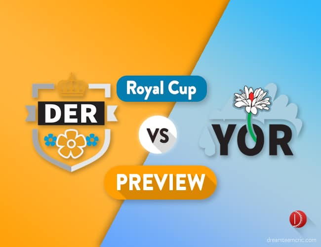 DER vs YOR Dream11 Team Prediction, Probable XI: Preview| David Willey Returns