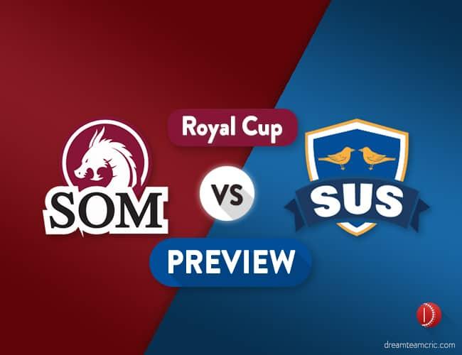 SOM vs SUS Dream11 Team Prediction & Probable XI :Preview