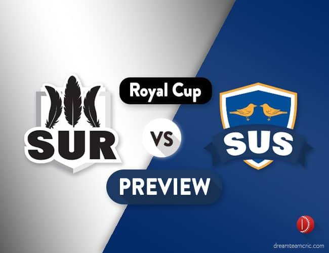 SUR vs SUS Dream11 Team Prediction & Probable XI: Preview