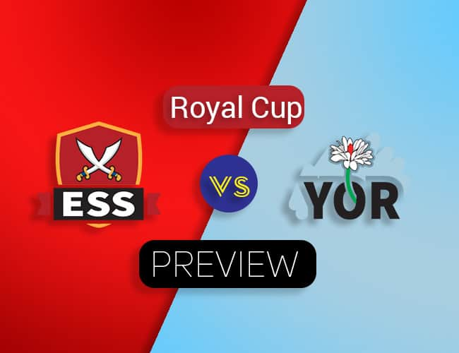 ESS vs YOR Dream11 Team Preiction : Preview | 2nd Quarter Final