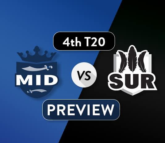 MID vs SUR Dream11 Team Prediction, Probable XI: Preview| The London Derby