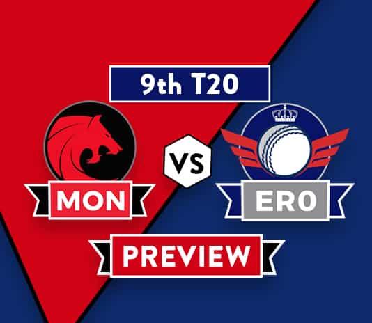 MON vs ERODream11 Team Prediction And Probable XI: Preview