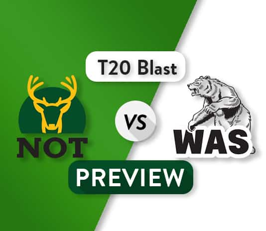 NOT vs WAS Dream11 Team Prediction, Probable XI: Preview | 1st T20