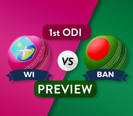WI vs BAN 1st ODI Dream11 Team Prediction and Probable XI: Preview