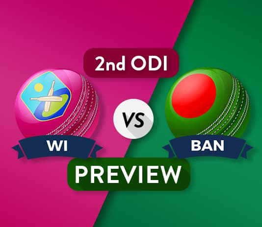WI vs BAN 2nd ODI Dream11 Team Prediction and Probable XI: Preview