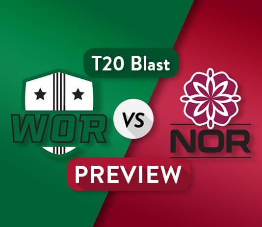 WOR VS NOR Dream11 Team Prediction and Probable XI: Preview