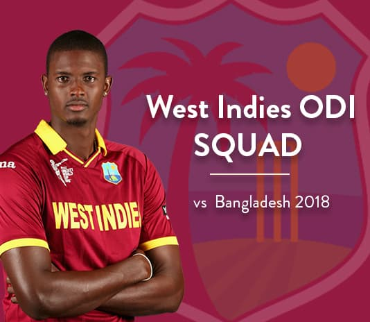West Indies ODI Squad vs Bangladesh 2018 | WI vs BAN Live Streaming