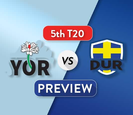 YOR vs DUR Dream11 Team Prediction, Probable XI: Preview| All eyes on Ben Stokes