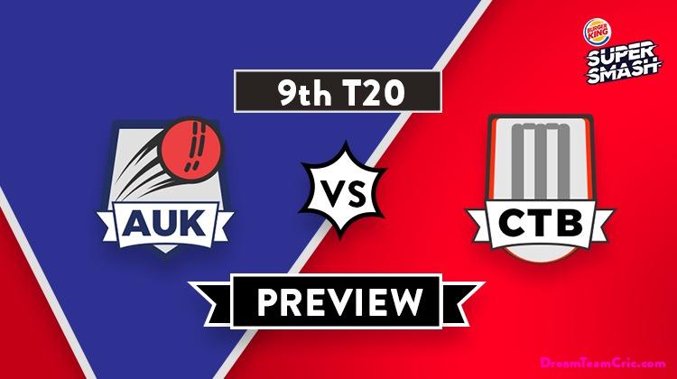 AUK vs CTB Dream11