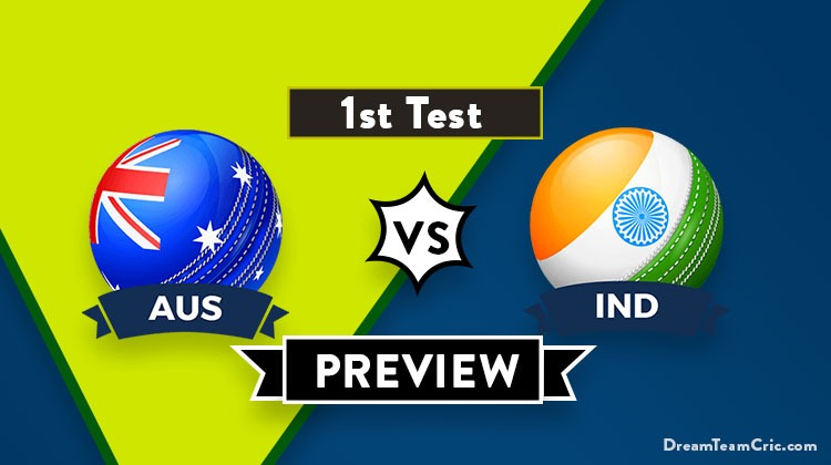 AUS vs IND Dream 11 Prediction