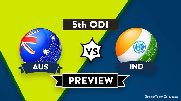 AUS vs IND Dream11