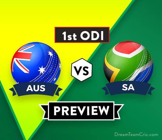 AUS vs SA 1st ODI Dream11 Team Prediction and Probable XI: Preview| Dale Steyn returns