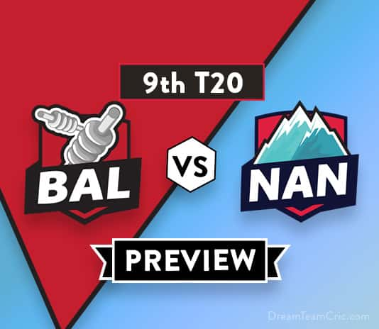 BAL vs NAN Dream11 Team Prediction of Afghanistan Premier League: Preview