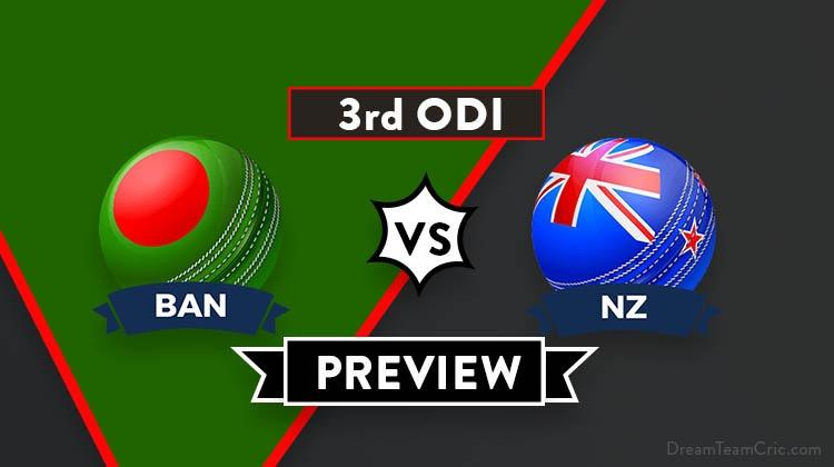 BAN vs NZ Dream 11 Team