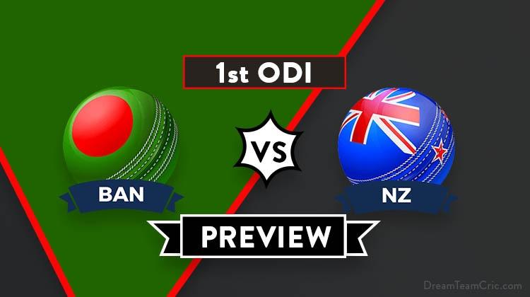 BAN vs NZ Dream11