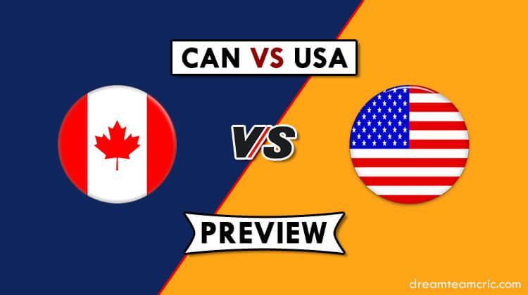 CAN VS USA Dream11
