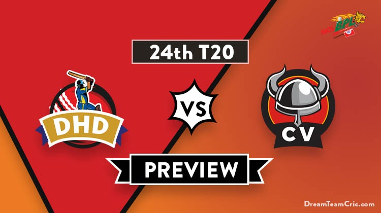 DHD vs CV Dream11