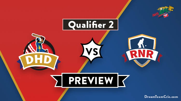 DHD vs RNR Dream 11