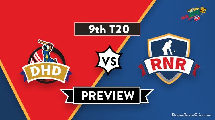 DHD vs RNR Dream11
