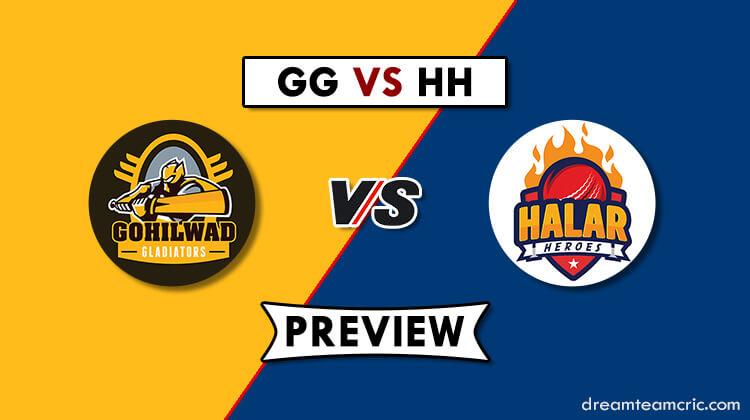 GG VS HH Dream11