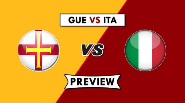 GUE VS ITA Dream11