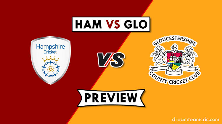 HAM VS GLO Dream11