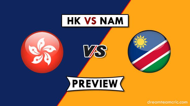 HK VS NAM Dream11