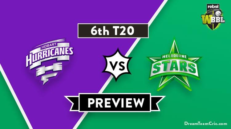 Hobart Hurricanes vs Melbourne Stars Dream11