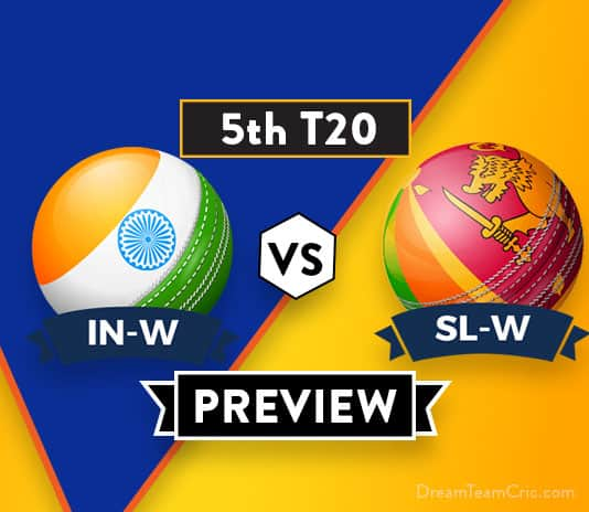 SL-W VS IN-W 5th T20I Dream11 Team Prediction and probable XI: Preview| The Last chance