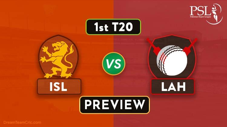 ISL vs LAH Dream11
