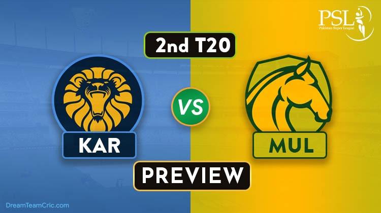 KAR vs MUL Dream11