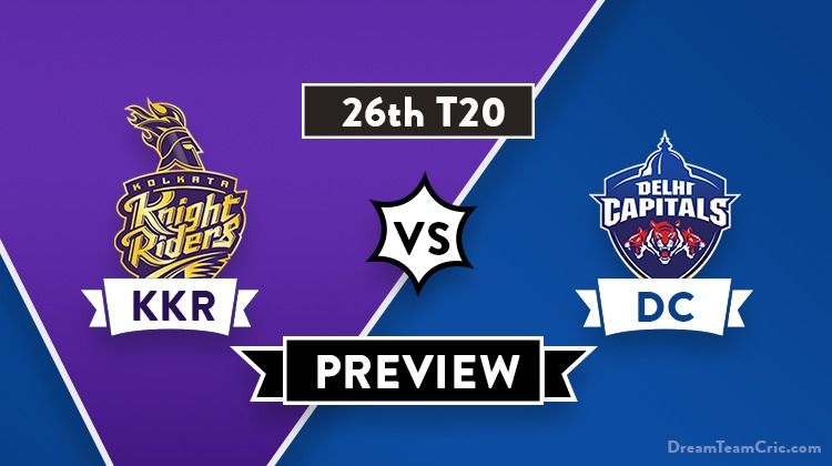 KKR vs DC Dream11