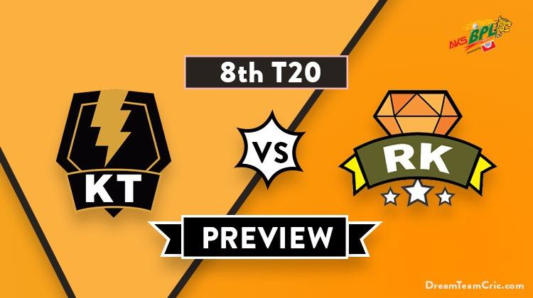 KT vs RK Dream11