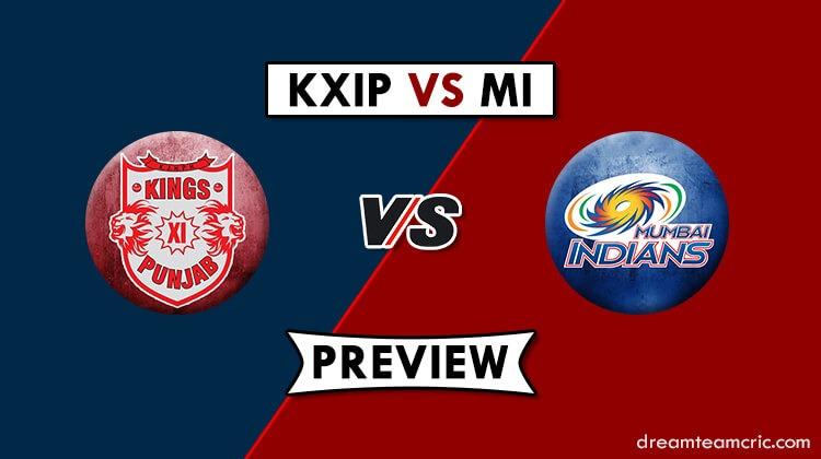 MI vs KXIP Dream11
