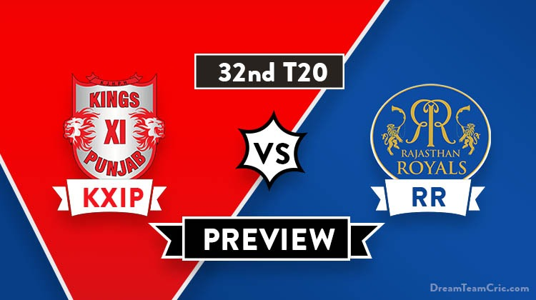 KXIP vs RR Dream11