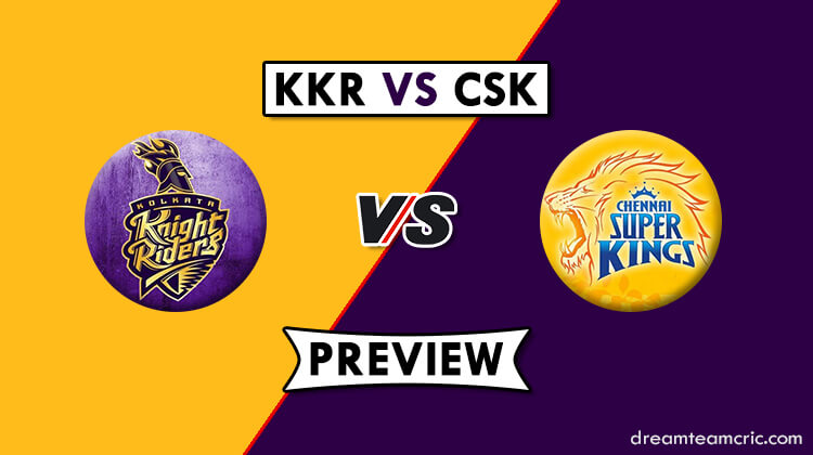 KKR vs CSK Dream11