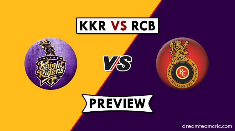 KKR vs RCB Dream11