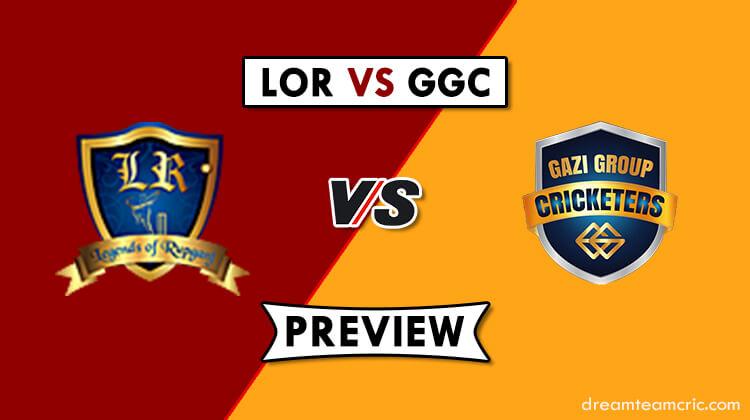 LOR VS GGC