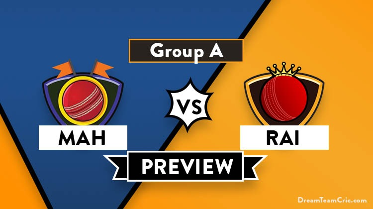 MAH vs RAI Dream11 Team Prediction of Syed Mushtaq Ali Trophy: Preview