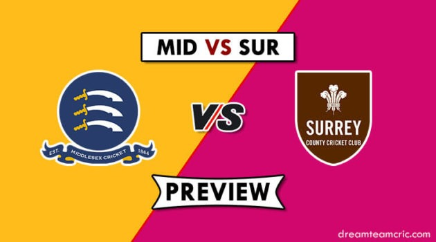 MID vs SUR Dream11
